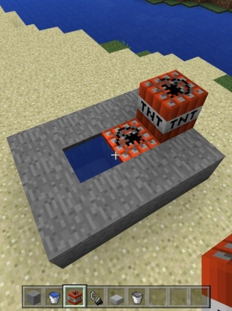 Student written tutorial: How to Construct a Minecraft Compact TNT Cannon #gdwams #stuchoice #stuvoice #tntedu