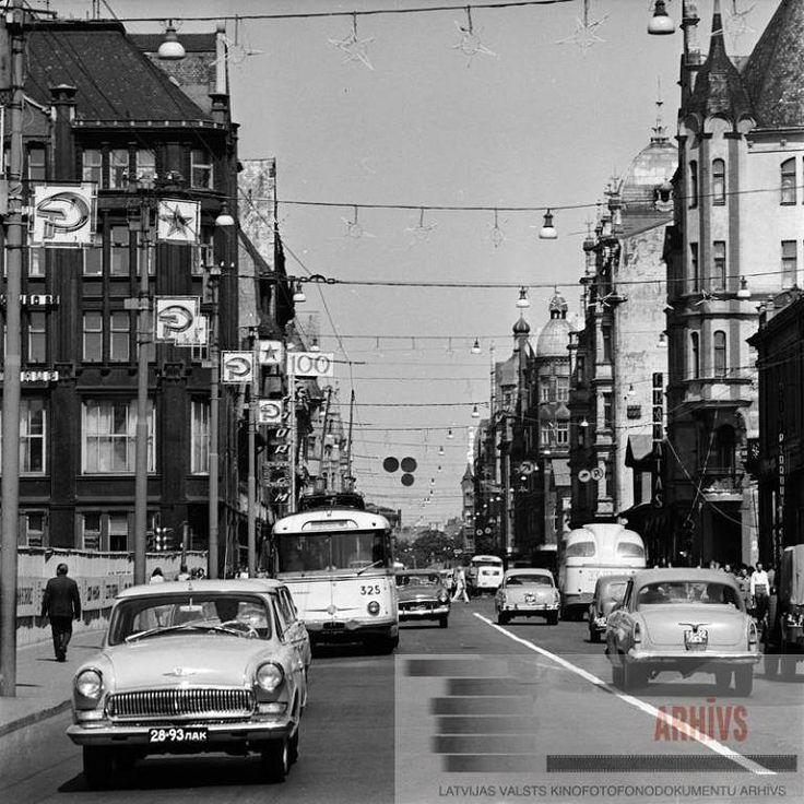 1969. gads, Brīvības iela