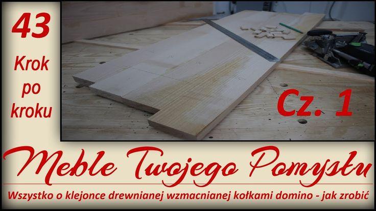 Wszystko o klejonce drewnianej wzmacnianej kołkami domino - jak zrobić cz.1 / plywood wooden