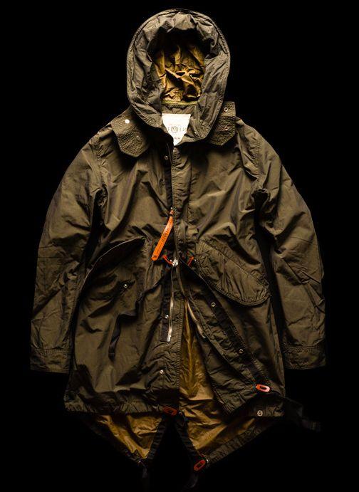 Image result for men parachute  parka