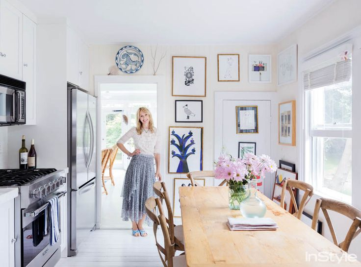 Rebecca Taylor In Her Beach House S Kitchen