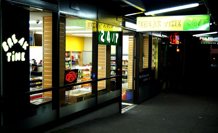 Illuminated Signage for Break Time by Speedy Signs Newton