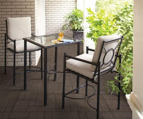 Home Depot Patio Furniture Clearance – save up to 75%  (I got this 3 pc Patio Set for $74.75!)
