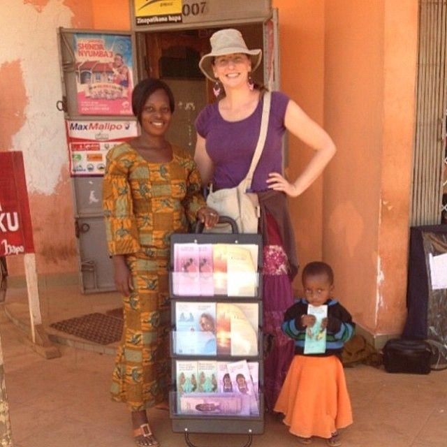 Bukoba, Tanzania- Publicly sharing the Good News of God's Kingdom with others. Between 9:30AM and 12:30PM they placed 191 magazines and 114 tracts and brochures. - Jw.org - Photo shared by @Ruth H. H. H. H. Stackhouse
