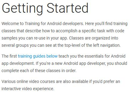 Getting Started | Android Developers