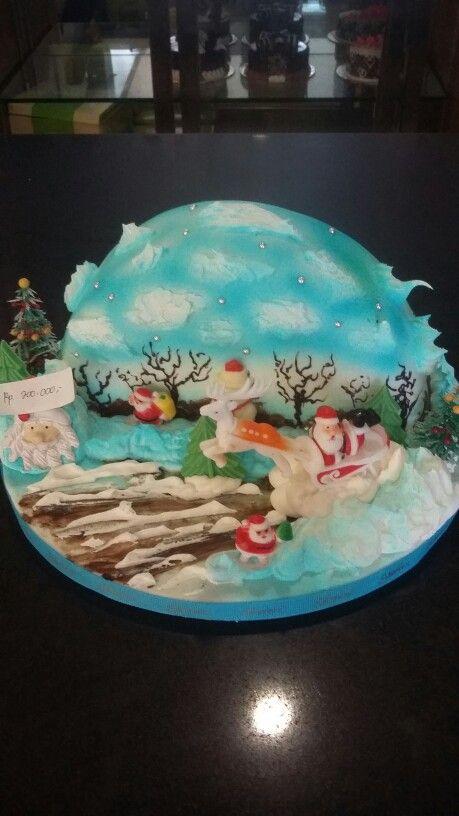 Cake chrismas
