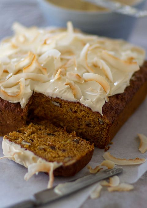 I'm awfully fond of this simple cake, for unlike many low-fat cakes it's really moist and has a wonderful, homely, spicy flavour. There are no eggs in it, only 1/4 cup of oil and no dairy products – as long as you don't ice it! (My husband would die if he read those last words …