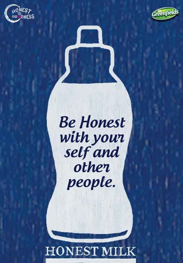 Be Honest with your self and other people...
