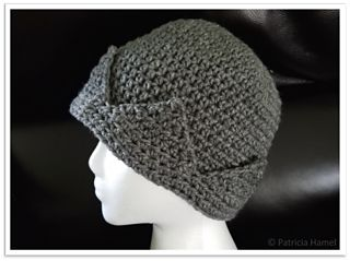 This pattern is for a very easy to make Jughead style hat. It's not an exact match to the hat on Riverdale, but the simplicity of it definitely makes up for that.