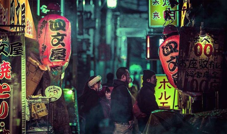 Tokyo Nights Photography by Liam Wong – Fubiz Media