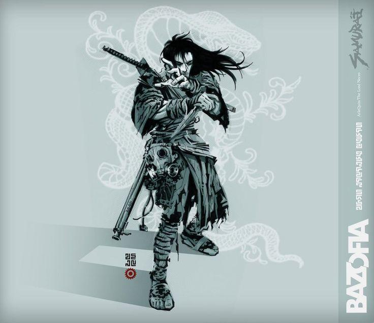 Lordnecro Samurai by ColectivoBazofia on DeviantArt