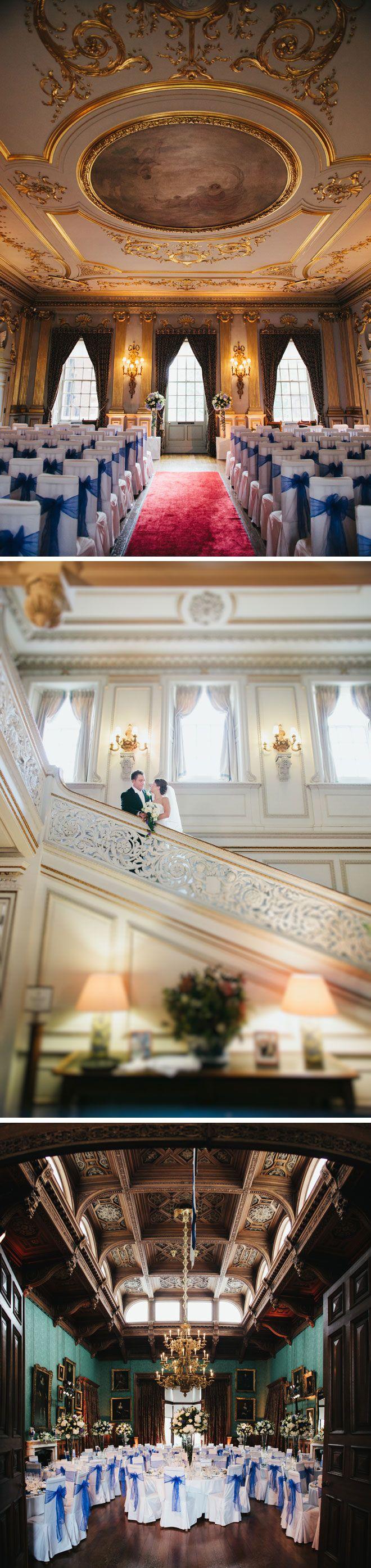 Knowsley Hall wedding venue in Merseyside | Visit www.wedding-venues.co.uk