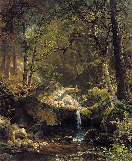 bierstadt mountain brook art institute of chicago - Google Search