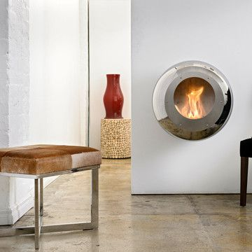 love these fire places!