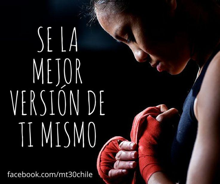 SE LA MEJOR VERSIÓN DE TI MISMO. #tutieneselpoder #Entrenamiento #Adelgazar mt30.cl