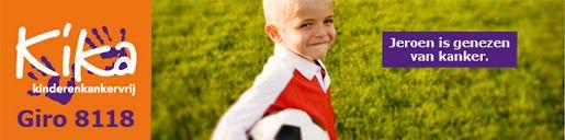 Jeroen is genezen. Maar we willen alle kinderen KankerVrij. Steun KiKa : Draag je steentje bij : www.nrccharityawa... Stem op kika
