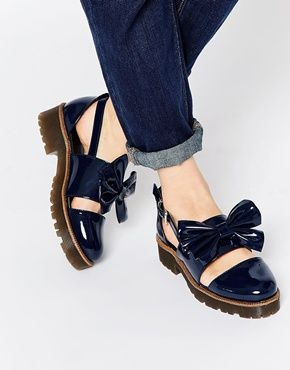 ASOS MARBLE Flat Shoes