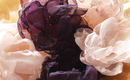 Cómo hacer flores de organza cab.jpg: Chiffon Flowers, Flowers Photography, Silk Flowers, Seeds Beads, Organza Flowers, Hair Clip, Diy Wedding, Fabrics Flowers, Flowers Tutorials