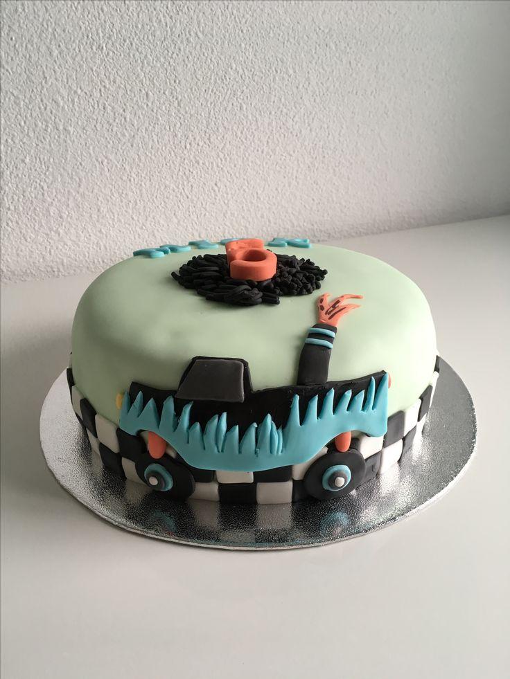 Monster Truck Taart