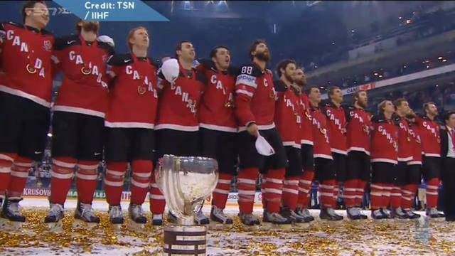 Russians fined $85,000 for leaving ice before O Canada at hockey worlds   Globalnews.ca