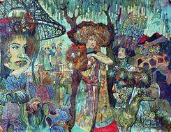 Способность художника воспринимать мир во всем его разнообразии и единстве отражается в умении соединить в одной работе несоединимое.