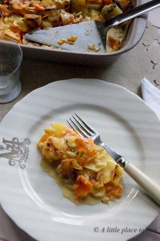 Sformato di zucca e patate