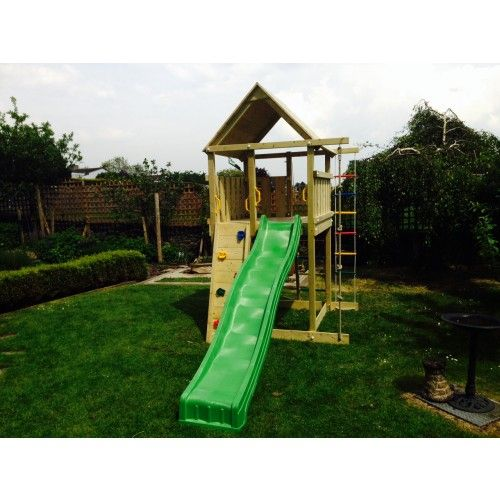 Jungle Gym Villa with wooden roof T401020WR - Exclusive to Active Garden 850 Active garden