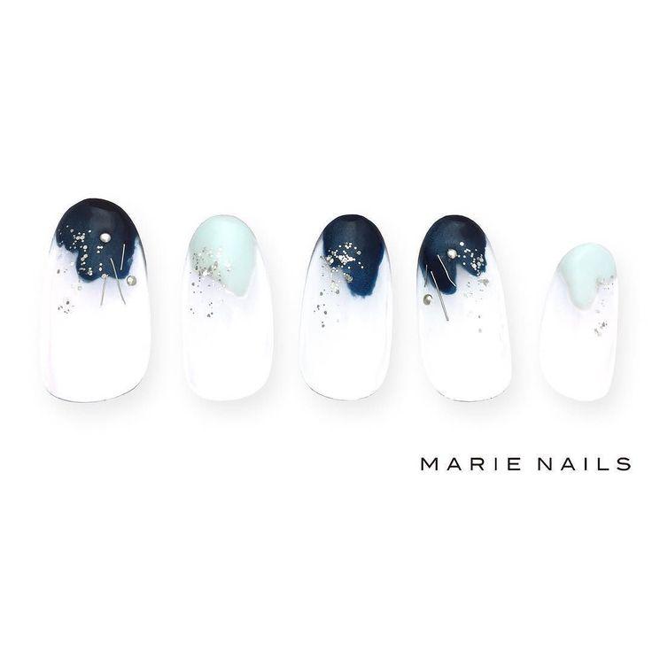 #マリーネイルズ #marienails #ネイルデザイン #かわいい #ネイル #kawaii #kyoto #ジェルネイル#trend #nail #toocute #pretty #nails #ファッション #naildesign #awsome #beautiful #nailart #tokyo #fashion #ootd #nailist #ネイリスト #ショートネイル #gelnails #instanails #marienails_hawaii #cool #liketkit #blue