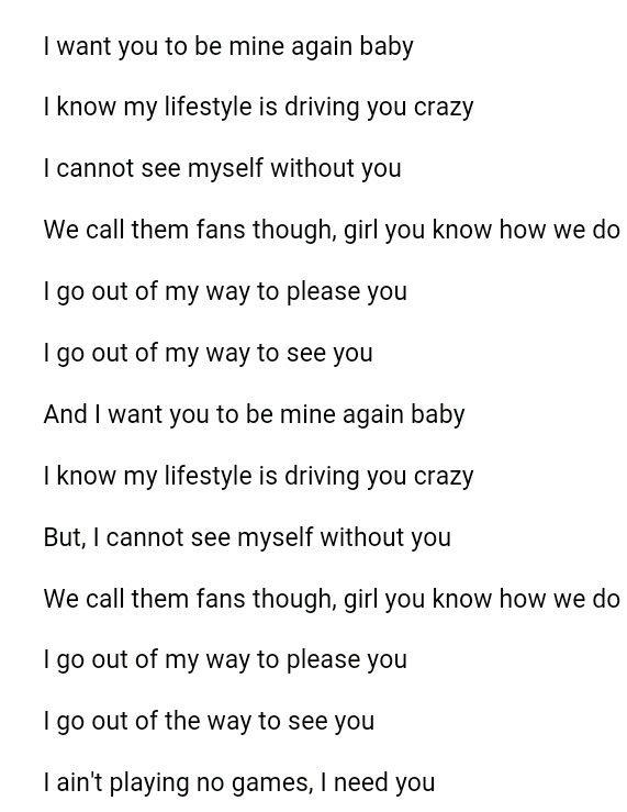 Again Fetty Wap clean lyrics #Iain'tPlayingNoGames