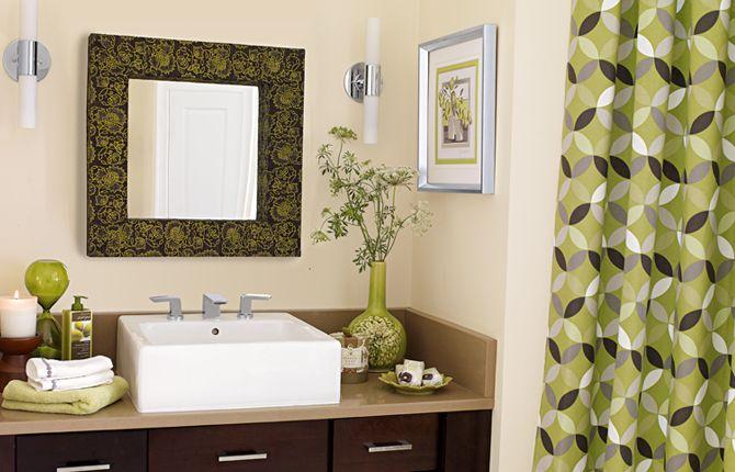 love the colorsDecor Style, Bathroom Colors, Decor Ideas, Kids Bathroom, Guest Bathroom, Green Bathroom, Colors Schemes, Bathroom Ideas, Apartments Style