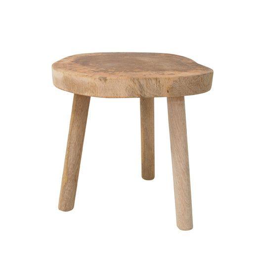 Drewniany stolik naturalny
