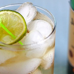 His drink (maybe;-): Jameson and Ginger