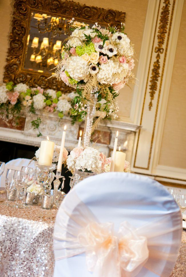 Tylney Hall Glamour {Styled Wedding Shoot}