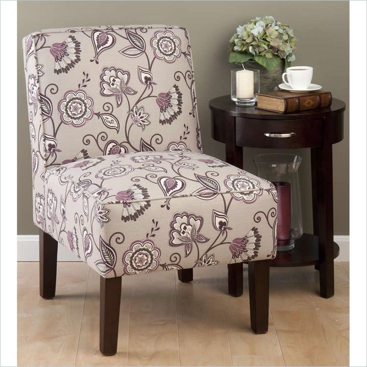 Jofran Erica Accent Chair In Plum Erica Ch Plum For