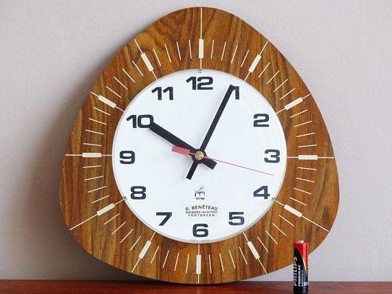 L Endroit Ou Acheter Et Vendre Tout Le Fait Main Clock Vintage Clock Kitchen Wall Clocks