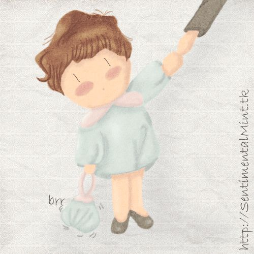 Niños de hoy - SentimentalMint    #nenes #niños #gif #cute #kawaii #dibujo #ilustracion #draw #ilustration #child #jardin #kindergarden #lol #funny #humor #chibi