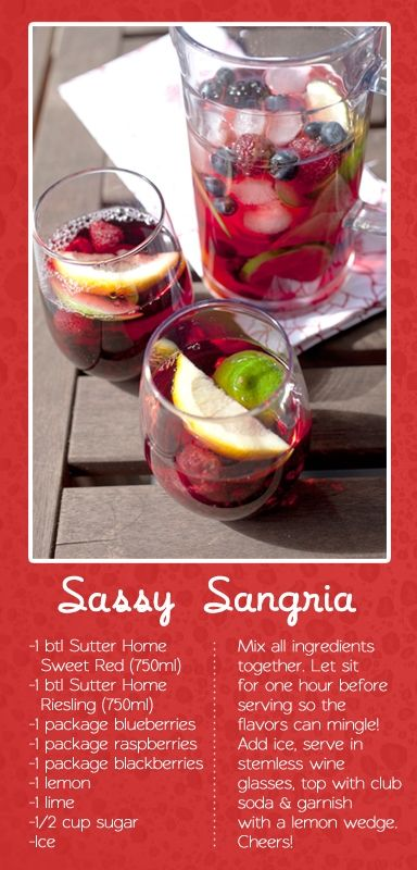sangria recipe favorite-recipes
