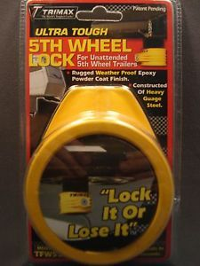 Trimax-5TH-Wheel-Lock-King-Pin-Unattended-Fifth-Wheel-Trailers-Tow-Hitch-Camper