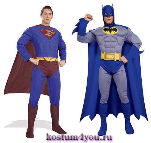 Детские новогодние костюмы купить супермен бетмен