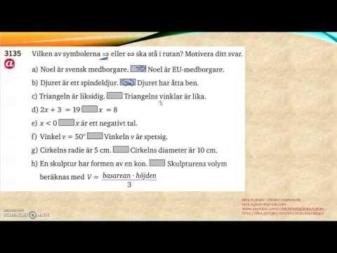 Matematik 5000 Ma 2a   Kapitel 3   Geometri   Implikation och ekvivalens...