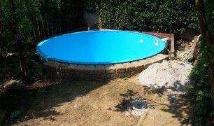 Kulaté plastové bazény Aquasep