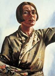 Charley Toorop self portrait.