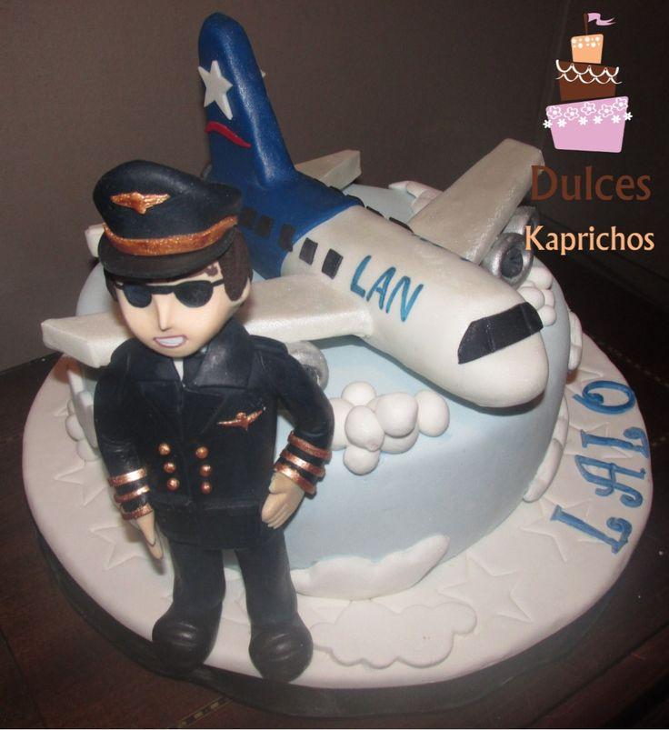Torta Piloto #TortaPiloto #TortasDecoradas #DulcesKaprichos