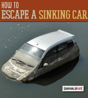 Escape a Sinking Car: What To Do When You're Submerged | Survival Prepping Ideas, Survival Gear, Skills & Emergency Preparedness Tips - Survival Life Blog: http://survivallife.com