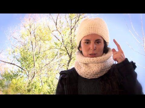 Cómo hacer un gorro y un cuello de ganchillo | How to make a crochet hat and neck warmer - YouTube