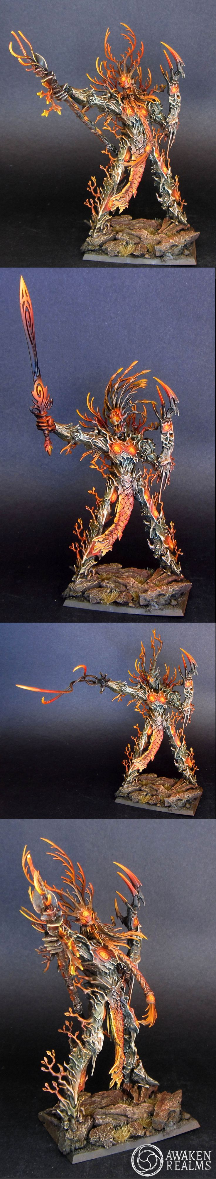 Wood Elves Elf Treeman Ancient / Durthu - It's about time the wood elf army got an update
