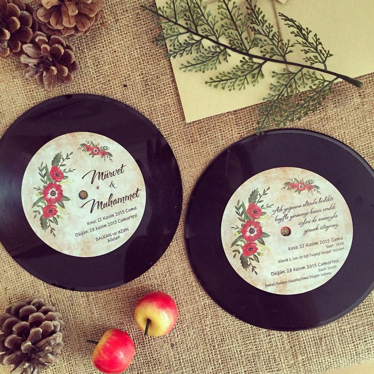 170 best Davetiye / Wedding invitation images on Pinterest ...