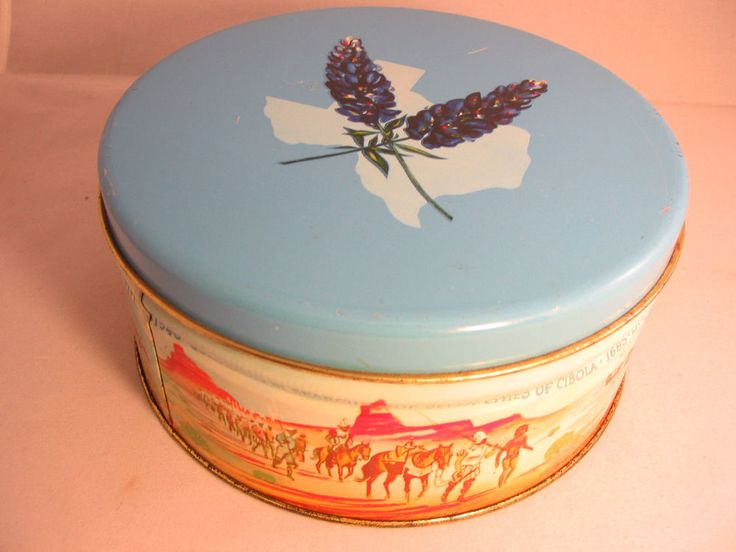 Vintage Fruit Cake Baking Tins