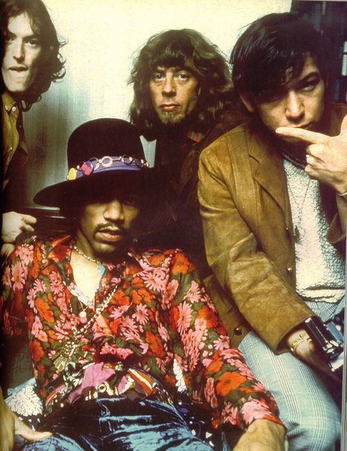 steve winwood ~ jimi hendrix ~ john mayall ~ eric burdon  -  Hendrix and Winwood together on Voodoo Chile (lesser known than it's famous reprise) fantastic atmospheric recording