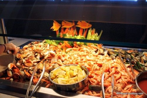 Disney dream cabanas buffet anytime disney fantasy for Cruise ship with best food